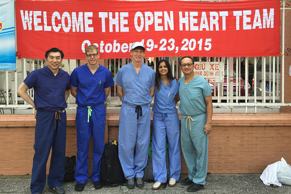 OPEN HEART FOUNDATION, HO CHI MINH CITY, VIETNAM
