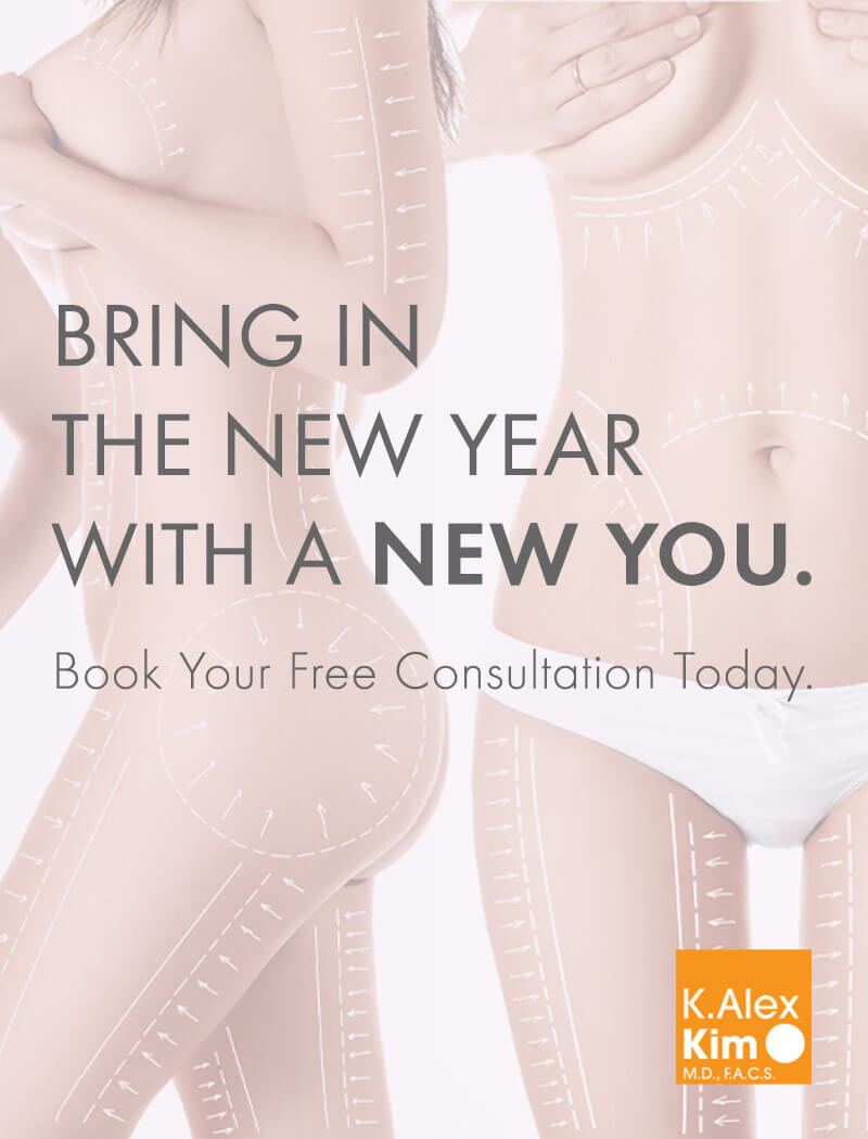 BRING IN THE NEW YEAR WITH A NEW YOU. Book Your Free Consultation Today.