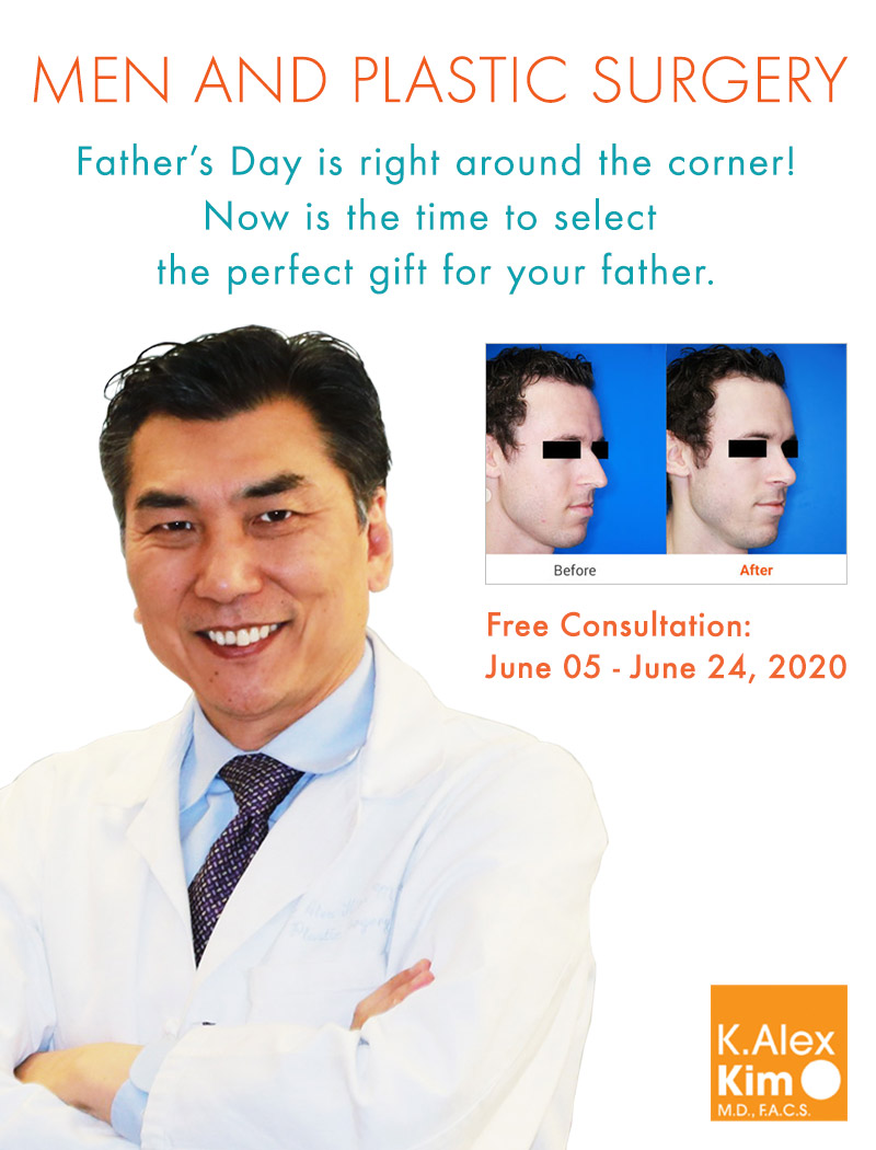 MEN AND PLASTIC SURGERY Father's Day is right around the corner! Now is the time to select the perfect gift for your father