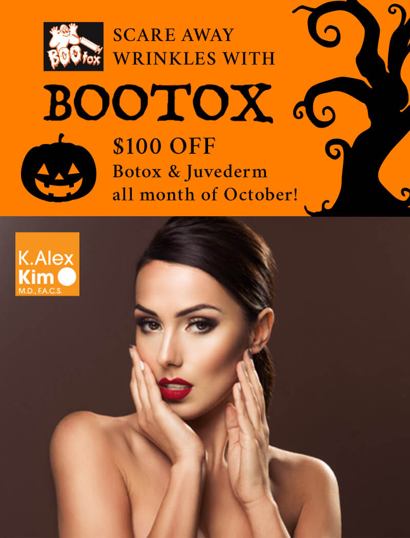 Scare Away Wrinkles With BOTOX $100 OFF